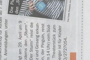 01.04.2014 Toni Timer Tiroler Tageszeitung
